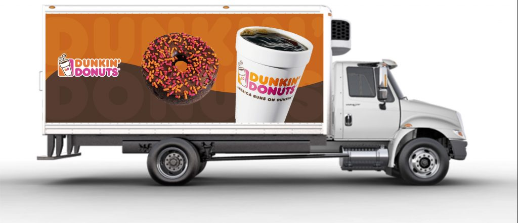 donut delivery truck